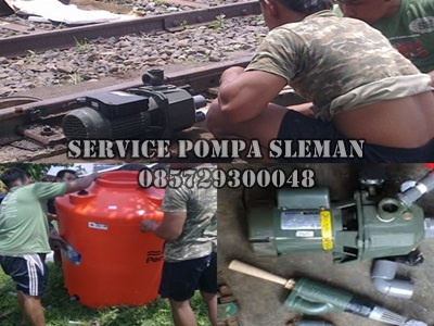 service pompa air sleman